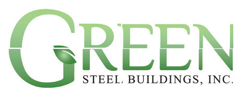 Green Steel Building logo